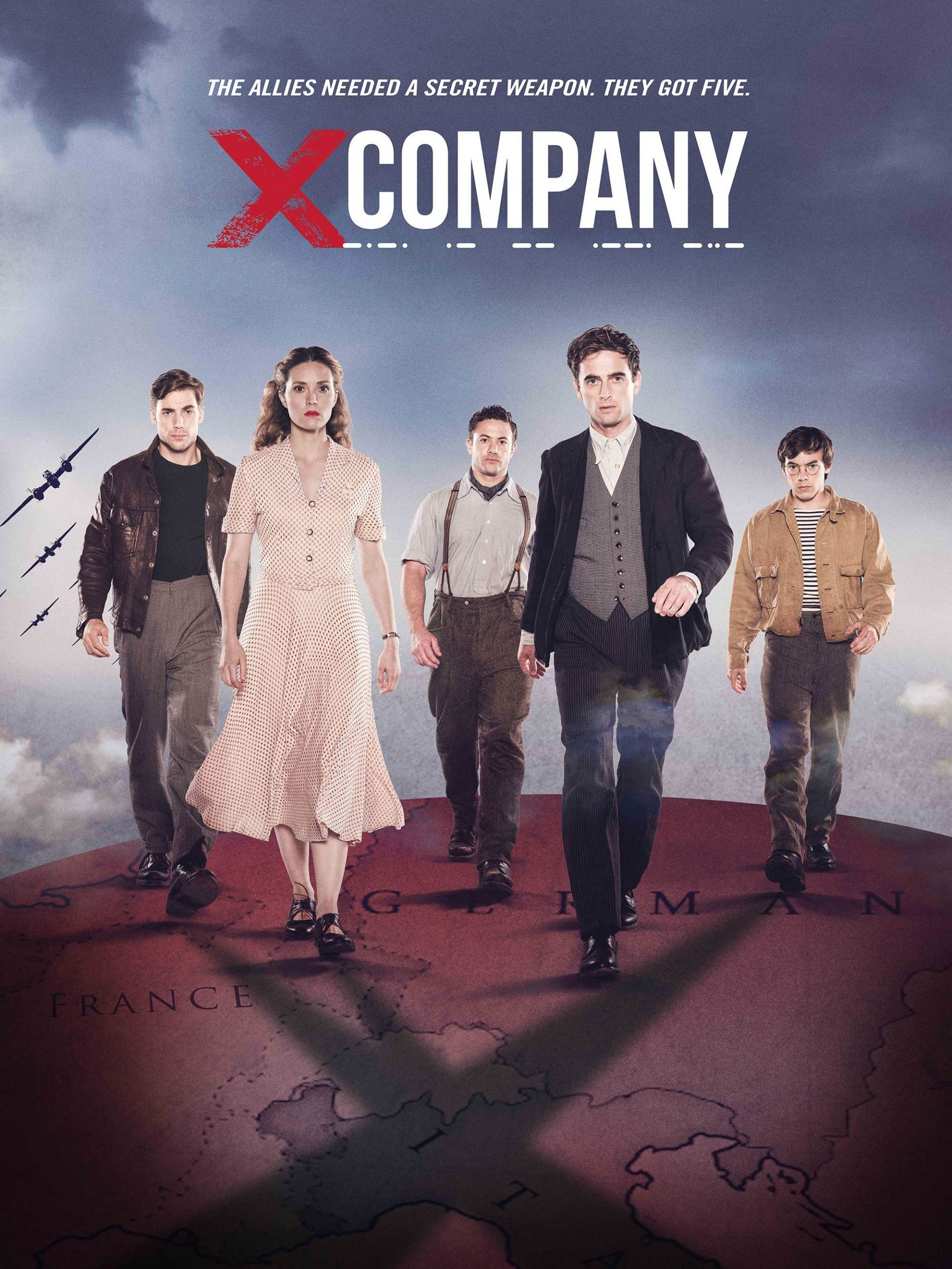 X Company Seasons 1-3