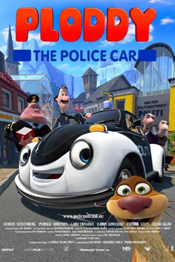 Плоди полицейската кола