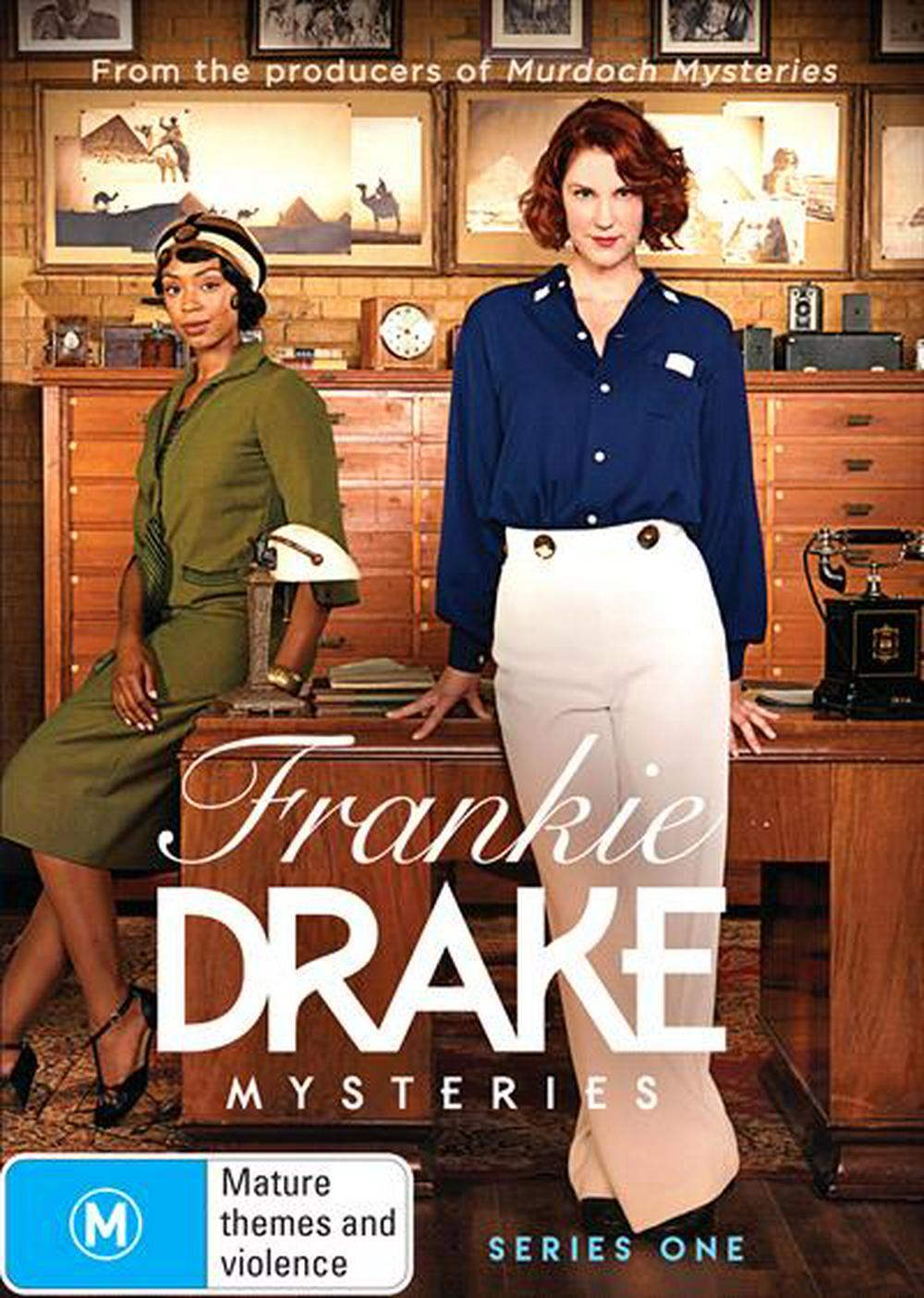 Frankie Drake Mysteries Seasons 1-3
