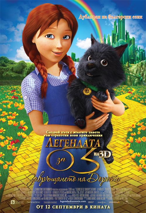 Легендата за Оз: Завръщането на Дороти